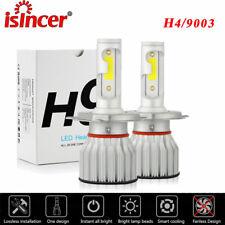 2x H4 9003 LED Headlight Conversion Kit 2200W 310000LM HI-LO Beam Bulbs 6000K US