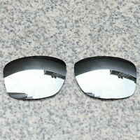RAWD Silver Replacement Lenses for-Oakley Jupiter Carbon OO9220 POLARIZED