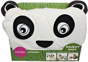 Oribel Peripop Pandy Black/White/Purple Baby Blanket/Playmat/Cushion Panda Bear