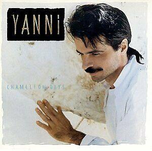 CD Yiannis Chryssomallis YANNI Chameleon Days 1990 Greek pianist keyboardist