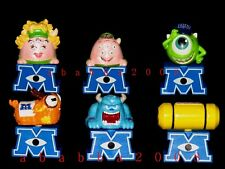 Bandai Disney Monsters Inc figure University gashapon (full set of 6 figures)