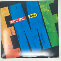 EMF Unbelievable Vinyl Record Original Remix Pressing 1991