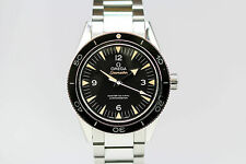 Omega Seamaster Stainless Steel Band Wristwatches