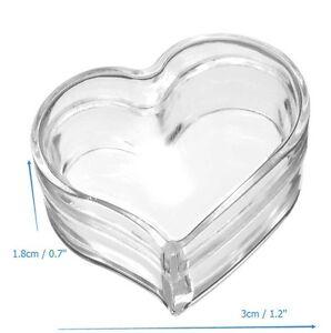 10pcs Empty Transparent Jar Pot Cream Box Makeup Face Cream Lip Balm Container