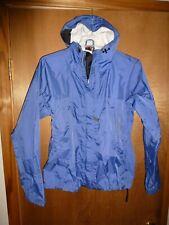 Marmot Rain Jacket Women's Blue Hooded - Size S