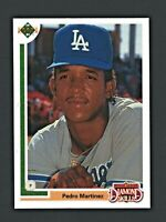 1991 Upper Deck Final Edition #2F Pedro Martinez Rookie RC DODGERS, RED SOX NICE