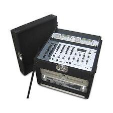 DJ Carpet CASE RACK für Mischpult CD-Spieler Endstufen Funkmikrofone 19 Zoll NEU