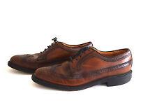 Vintage Royal O'Sullivan's Wingtips Oxford Dress Shoes size 10.5 M Leather