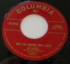 GUY MITCHELL NM- Why Should I Go Home 45 Don't Rob Another Man's Castle 4-39886