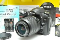 Nikon D50 DX-Format CMOS Digital SLR Camera W/AFS 18-55mm f/3.5- 5.6G ED-IF Lens