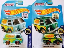 2017 Hot Wheels Super Treasure Hunt SCOOBY Mystery Machine Factory Seal Hologram
