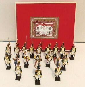 Mignot Set No. 33 Dragoons of the 17th Regiment (17 Pieces) in Original Box
