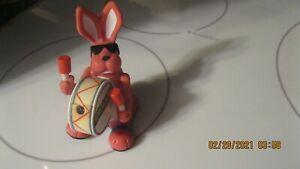 Vintage Energizer Bunny Pink Plastic Drum  Promo Toy
