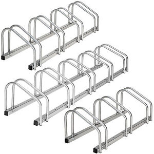 3 4 5 vélos étage cycle rack râtelier support range cote à cote bicyclette