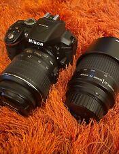 Nikon D5300 Digital Slr Camera (Kit w/ Af-S Dx 18-55mm & Nikkor 70-300mm lens)