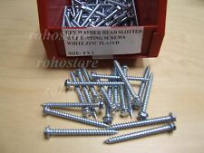 25 lbs 2800 Pcs # 8 X 2 Hex Washer Head Self Tapping screw free shipping