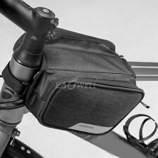 Roswheel 1.5L Bicycle Bike Top Frame Front Tube Pannier Saddle Bag Dual Pouch ER