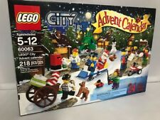 Lego - City Advent Calendar 218 PCS. 24 Gifts, # 60063