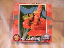 New 100 Piece Red-Eyed Tree Frog  Puzzle