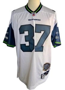 Shaun Alexander Seattle Seahawks #37 Reebok Jersey NFL Equipment White Sz XL