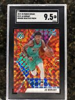 SGC 9.5 GEM MINT 2019-20 PANINI MOSAIC JA MORANT ORANGE REACTIVE ROOKIE RC #219