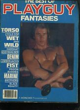 BEST PLAYGUY FANTASIES-'76- 36 FANTASY STORIES- PUBLISHED BY HONCHO-GAY MAGAZINE
