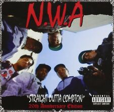 "N.W.A. ""STRAIGHT OUTTA COMPTON 20TH ANNIVERSARY"" CD NEW"