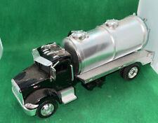New Ray Peterbilt 335 1/43 Tanker Truck Black & Silver!