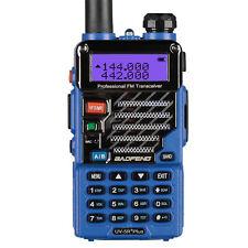 Baofeng UV-5R Plus Qualette Bleu Dual Band VHF UHF FM Emisora Transceptor EU DHL