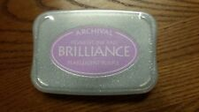 BRILLIANCE Archival Pigment Ink Pad - Pearlescent Purple