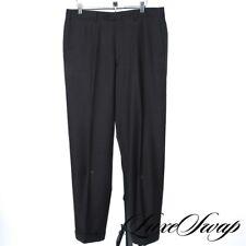 WORK FROM HOME Ermenegildo Zegna Black Label Cigar Brown Fall Pants Trousers 34