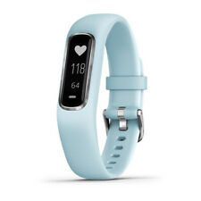Garmin Vivosmart 4 rastreador de actividad & Fitness-Azul Azul con el hardware de plata