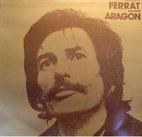 ++JEAN FERRAT chante aragon LP 1978 le malheur d'aimer/robert le diable VG++