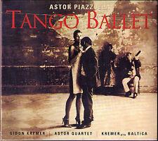 Gidon KREMER: PIAZZOLLA Tango Ballet Concerto del Angel ASTOR QUARTET CD