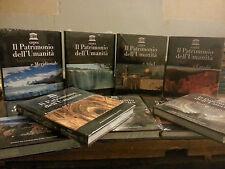 Enciclopedia - Il Patrimonio dell'umanità -Unesco - Gedea -De Agostini 9 Volumi