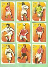 1999 FUTERA MANCHESTER UNITED  FOOTBALL CLUB CARD SET & 9 INSERTS