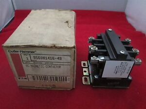 Cutler Hammer 9560H1416-49 AC Magnetic Contactor new