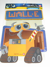 Planche de Stickers Autocollants Disney Pixar Wall E 25x35 cm Edition MFG b NEUF