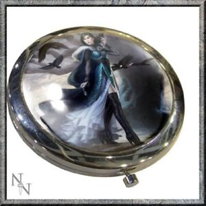 Raven Compact Mirror By Nemesis Now