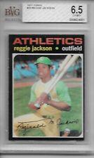 1971 Topps # 20 Reggie Jackson -  BVG 6.5 EXMT+  - Athletics