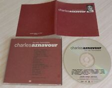CD ALBUM FOR ME FORMIDABLE CHARLES AZNAVOUR 16 TITRES 1995