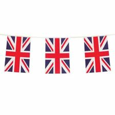 10m 20 Flag Bunting GB Union Jack Garland Street Party UK Day Decorations