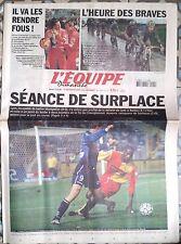 L'Equipe Journal 14/04/2002; 100e Paris-Roubaix/ Schumacher/ Lens toujours leade