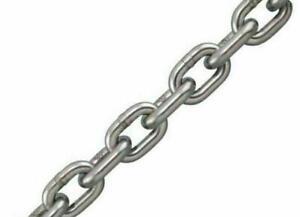Stainless Steel Marine Grade Anchor Chain 3mm Short Link 16mm x 5mm per metre