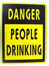 BEER WINE BOOZE SEX DANGER DRINKING PLAY FUN SIGN POOL TIKI BAR TROPICAL ISLAND