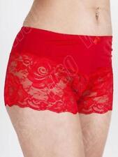 Perizomi, tanga, slip e culottes da donna rosso floreale