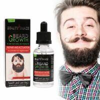 Aceite para Barba Hombre Cara Beard Oil Hidrata Favorece el de Crecimiento 40ml*