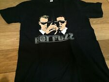 Hot Fuzz movie rare promo T shirt size M / simon pegg shaun of the dead no dvd