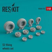 S-3 Viking wheels set << Reskit RS48-0215, 1:48 scale