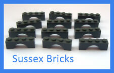 Lego Castle - 12x Dark Bluish Stone Grey 1x4x1 Arch Brick 3659 - New Pieces
